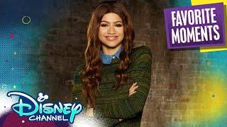 Zendaya's Best Moments! 💥   Disney Channel