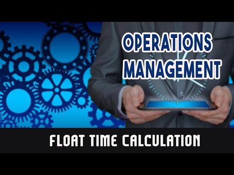 Critical Path Method: Float Time Calculation
