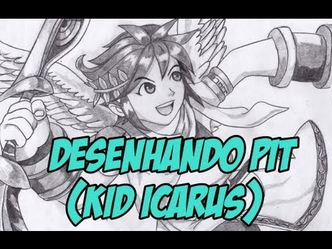 How To Draw Pit Kid Icarus