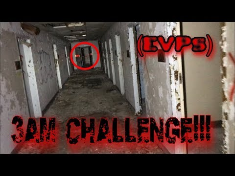 (3AM CHALLENGE) Lost In Haunted Abandoned Asylum (EVPs)