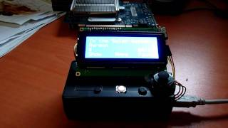 An arduino-based remote control for an audio player (CMus)