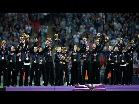 2012 Gold Medalists - Women