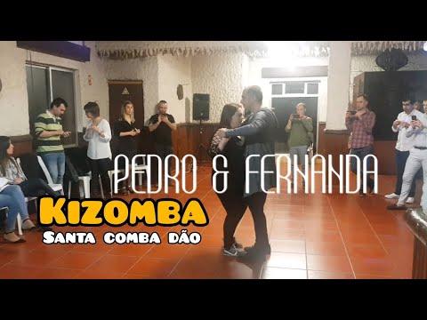 Workshop de Kizomba Fusion - Pedro e Fernanda - Santa Comba Dão (Portugal) 2019