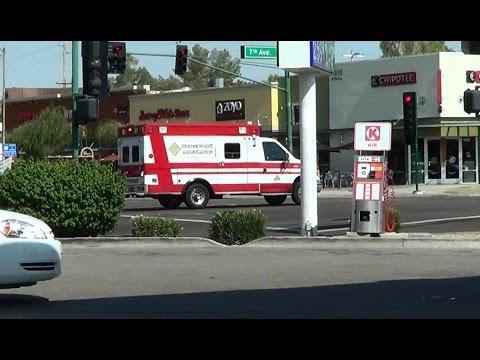 Southwest ambulance responding in Phoenix [AZ | 6/23/2015]