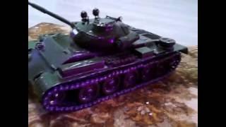 моделька т-62а своими руками