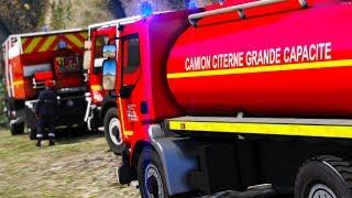 GTA 5 RP   Sapeurs-pompiers #8 - CCGC FEU DE FORET