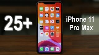 25  Tips and Tricks iPhone 11 Pro Max