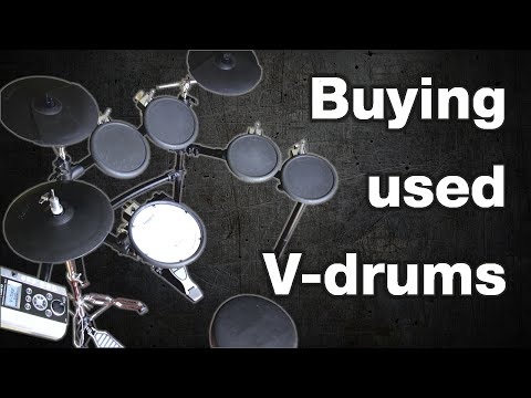 Buying Used V-drums (Checklist)