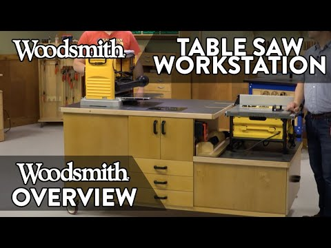 All-In-One Table Saw Workstation