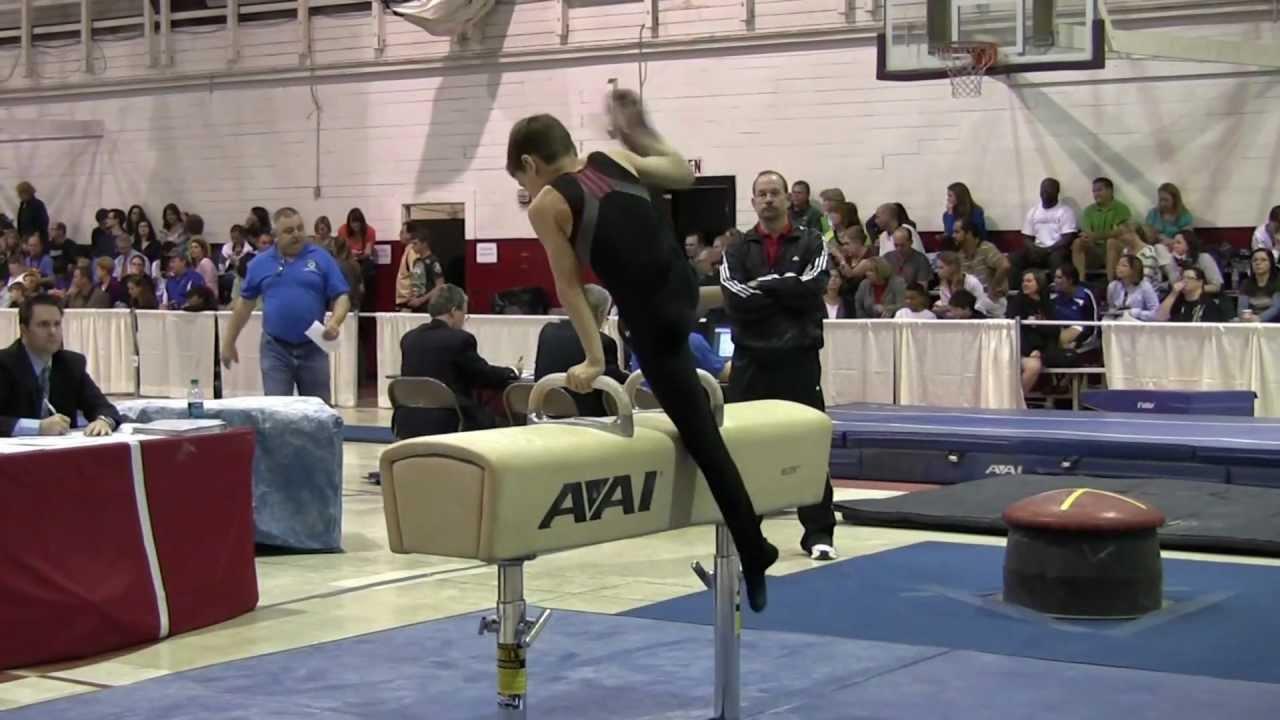 region 5 gymnastics regional meet 2012