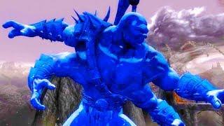 Mortal Kombat Komplete Edition - Sapphire Goro & Dark Kahn Tag Ladder 4K Gameplay Playthrough