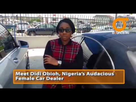 From UNILAG To Mechanic Workshop: Meet Lagos' Hottest Female Car Dealer