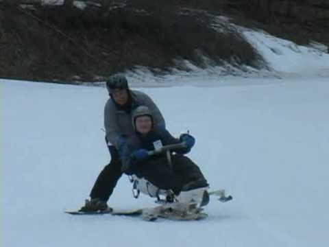 06 North American Squirrel Association (nasa) Assisted Skiing Program