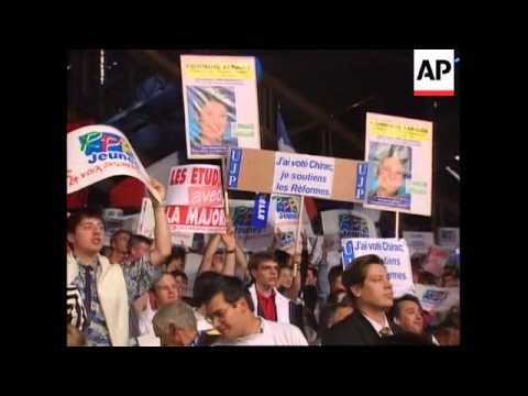 France - Political parties stage election rallies