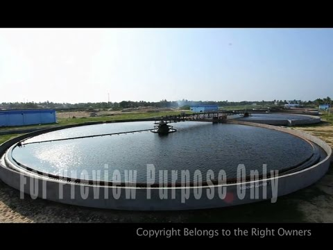 HOW TO PROCESS SEWAGE WATER | WASTE WATER TREATMENT PLANT  VIDEO