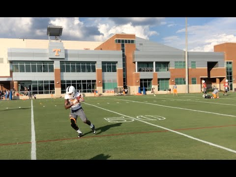 Tennessee Football Practice 08/01/2016