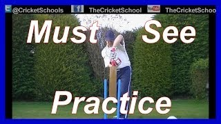 HD Cricket Video Batting Tutorial How to Back Swing -- Cricket Coac...