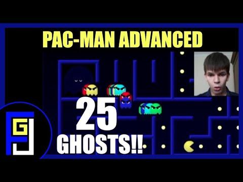JimboPlays (33) - TWENTY FIVE GHOSTS!! - Pacman Advanced
