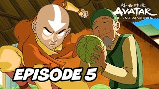 Last Airbender Book 1 Episode 5 -  The King Of Omashu TOP 5