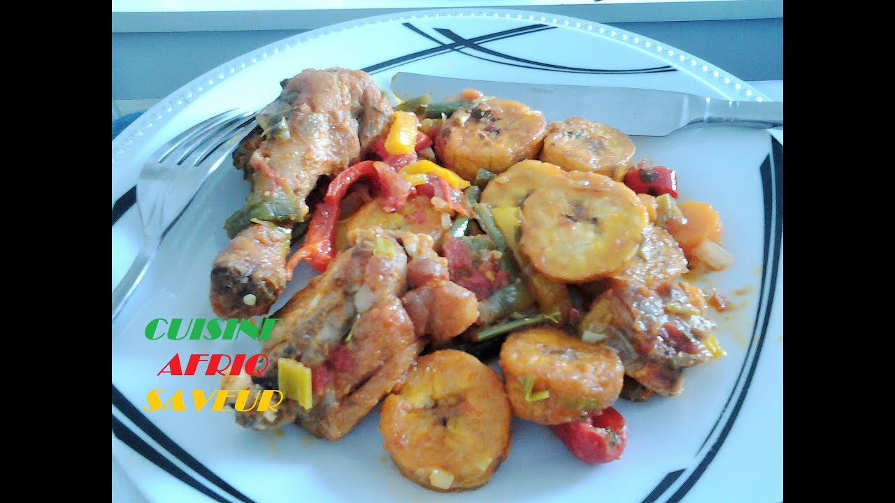 Poulet dg cameroun cuisine afriq saveur youtube for Cuisine youtube
