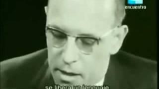 Michel Foucault - Entrevista Alain Badiou (1 de 3) - Filosofía y Psicología