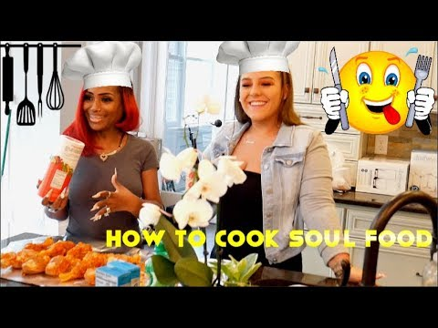 Bloveslife Teaches Nicole How To Cook Soul Food🍽️👨🏾🍳