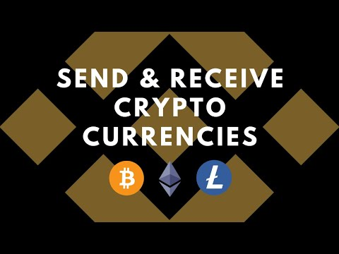 How To Send And Receive Cryptocurrencies On Binance
