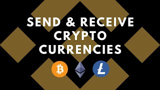 How to send aฑd receive cryptocurrencies on Binance