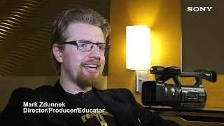 HXR-NX100 Interview with Mark Zdunnek | Sony Professional