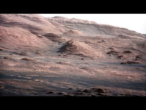 Mars, at Rover Curiosity, photographs have uncovered a hangar and pyramid in the Mount Sharp area Hqdefault