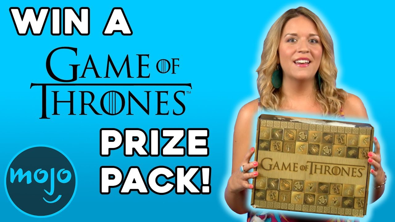 What's Up with WatchMojo - Win a Game of Thrones prize pack!
