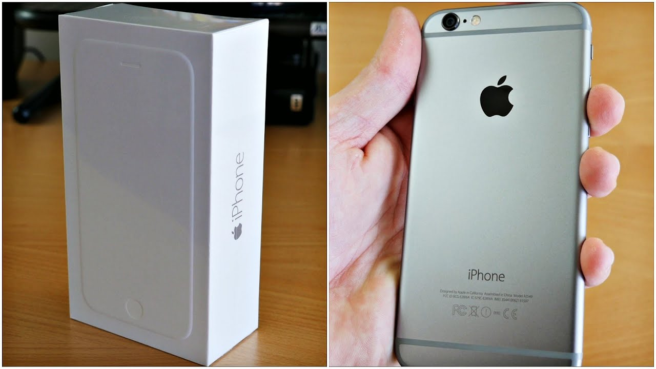 IPhone 6 Unboxing Hands On 64GB Space Gray