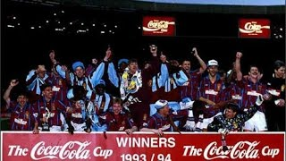 Aston Villa 3 Manchester Utd 1 - Coca Cola Cup Final - 27th March 1994