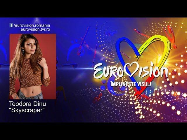 Teodora Dinu - Skyscraper   Eurovision România 2019