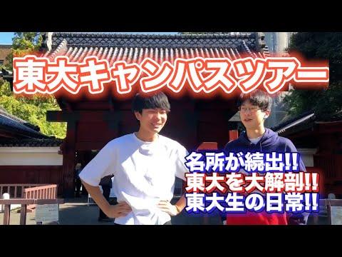 【知られざる実態】東京大学キャンパスツアー!