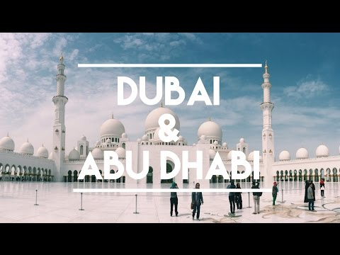 Adventures in the UAE: Dubai & Abu Dhabi (GoPro & Nikon D7100)