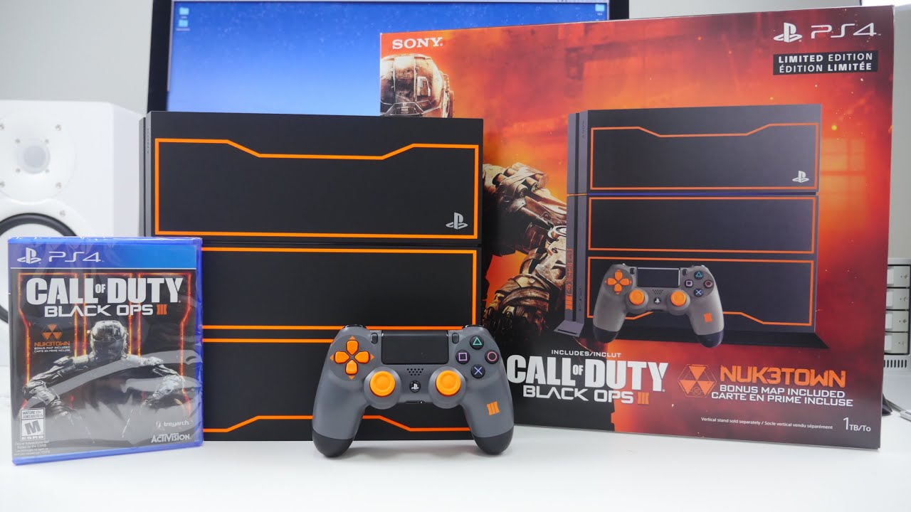 Ps4 Black Ops 3 Bundle Unboxing Youtube