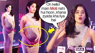 Jhanvi Kapoor's Unbelivable Reaction on Looking F@t At Film Fare Awards 2019