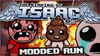 The Binding of Isaac: Rebirth - Modded Run: Walking Dingle Dangle Army! (Heretic)