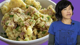 PEANUT BUTTER Potato Salad - Retro Recipe Test