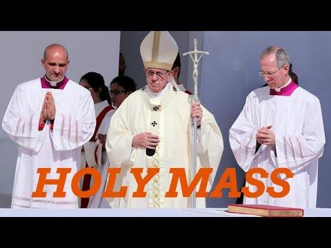 Pope Francis - HOLY MASS @ Abudhabi. 05- 02- 2019
