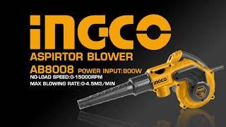 INGCO NEW Products Aspirator blower AB8008 HD