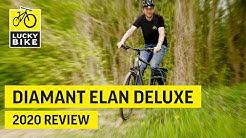 Diamant Elan Deluxe 2020 | Trekkingbike Review | Leicht und Sportlich für Deine Tour!