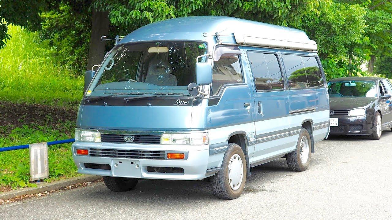 1991 Nissan Caravan Homy Camper Van Diesel 4wd Canada Import Japan