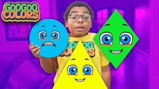 What Happened To Circle? Goo Goo Gaga Teaches Shapes!