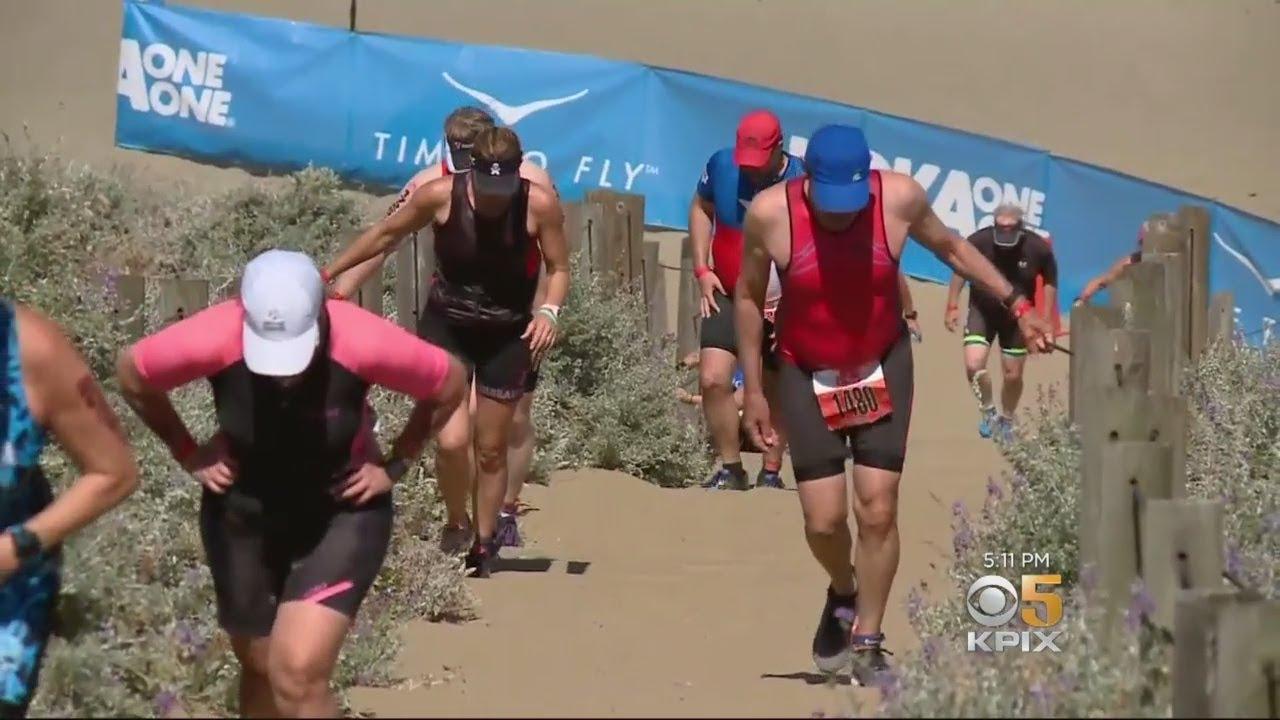 Thousands Participate In Escape From Alcatraz Triathlon