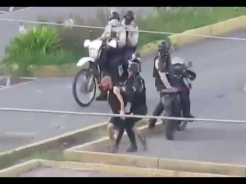 Venezuela Regime Violent Attack on Bystander