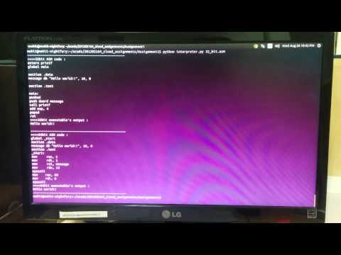 Cloud Computing - 32bit to 64bit interpreter