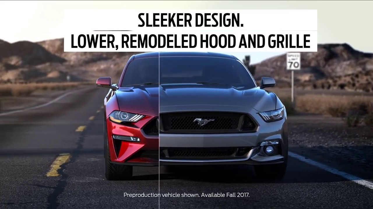 2018 ford mustang vs older mustang comparison youtube. Black Bedroom Furniture Sets. Home Design Ideas