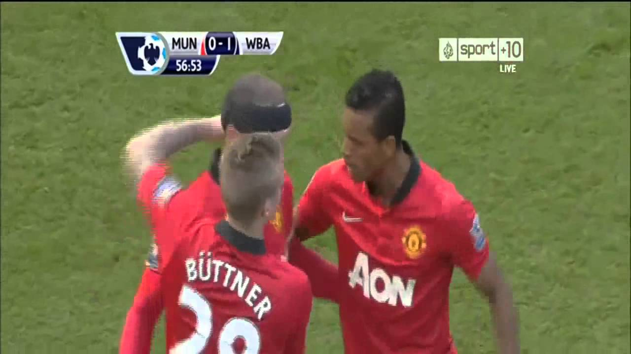 Manchester United  West Bromwich All Goals Amazing Goal By Amalfitano